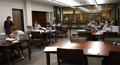 Special Collections Reading Room | Augustana College
