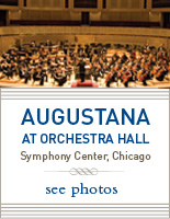 Photos of Augustana performing at Chicago's Orchestra Hall
