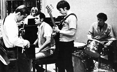 A campus church rock band, from the March 5 1969 Observer