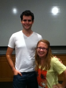 Zach Wahls and I