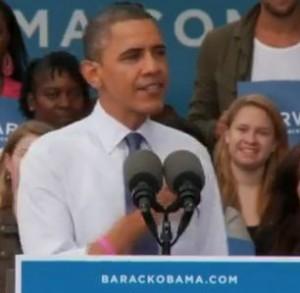 Obama and I