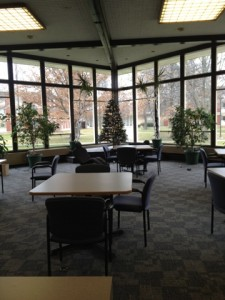 Chill in the Erickson lounge!