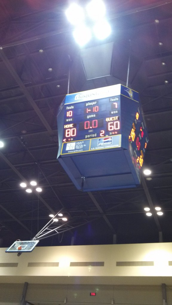 Augustana women's basketball defeated Clarke 80-60