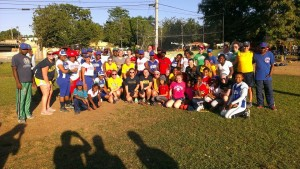 While in the Dominican we did a clinic with a group of girls of various ages.