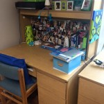 meg's desk