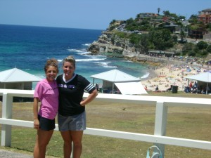 Court and I at Bronte Beach