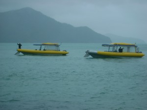 Our ocean rafting boats
