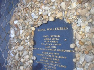 Memorial to Raoul Wallenberg