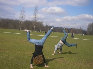 Cartwheels for warm weather
