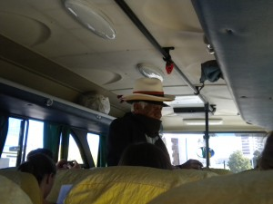 The Ecuadorian man who hitched a ride on our bus