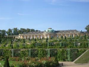 Palace in Park Sansoucci