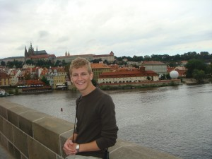 Me on the Charles Bridge