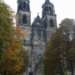 The Gothic church in Magdeburg