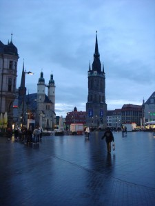 The center square of Halle