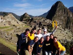 Augies at Machu Picchu