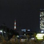 Tokyo Tower as seen from Harujuku