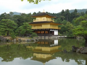 Golden Pavilion in Kyoto