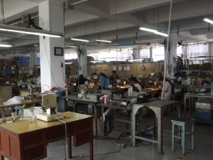 Shoe factory in Wuhan